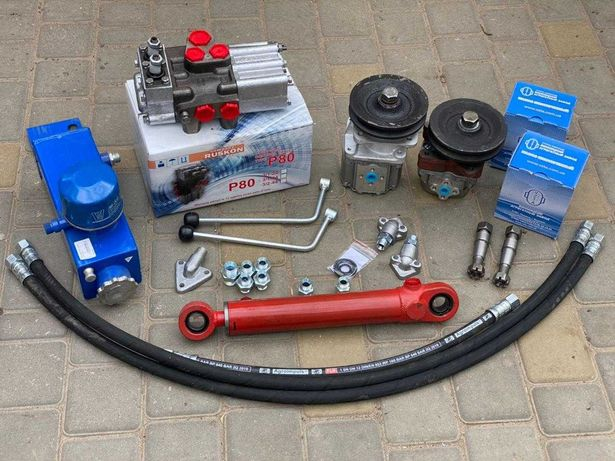Комплект гидравлики на мини-трактор мото-блок (задняя навеска ЦС50)