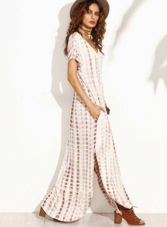 Шикарное платье -макси