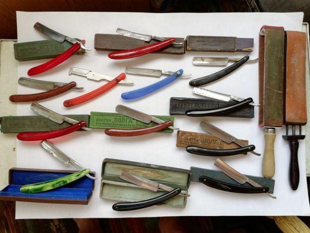 Набор опасная бритва шаветка микрокорунд ремень для правки бритв