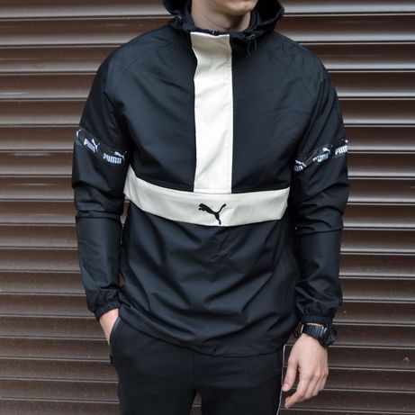 Ветровка анорак PUMA мужская куртка на осень