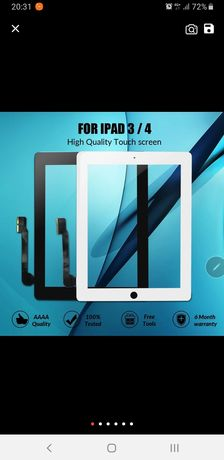 Сенсорный экран для iPad 3 4 iPad3 iPad4 A1416 A1430 A1403 A1458 A1459
