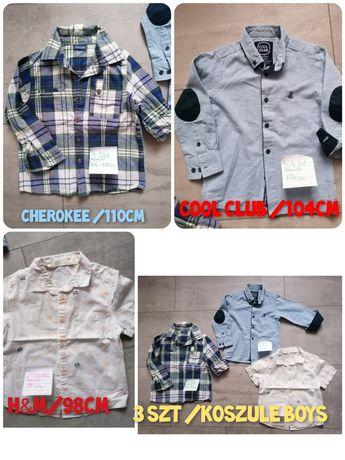 Sprzedam! Koszule marki Cherokee, Cool-Club, H&M