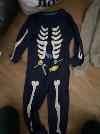 Супер пижама Картерс Праймарк светится.слип.человечек.скелетом