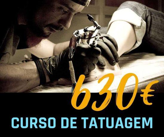 CURSO DE TATUAGEM - CERTIFICADO