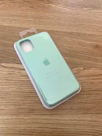 Apple etui case iphone 11 zielony