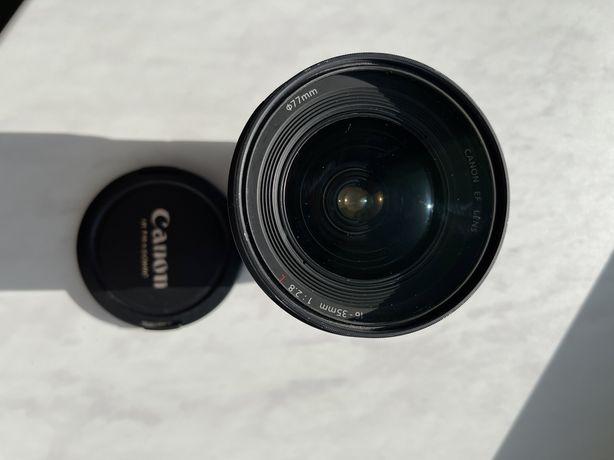 Об'єктив Canon 16-35 mm f/2.8 77 mm
