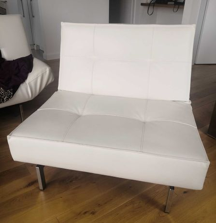 Fotel Innovation (skóra, rozkładany)