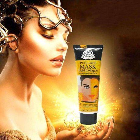 Máscara Gold Collagen Facial. Bisnaga 120g. Envio Grátis. Cacem