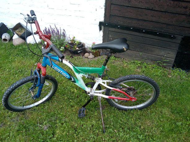Rower na działkę dla dziecka