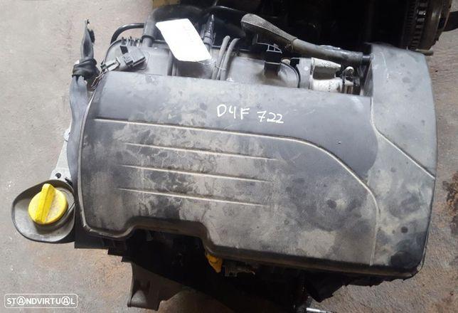 Motor Renault Clio II / Twingo 1.2 75cv Ref. D4F722
