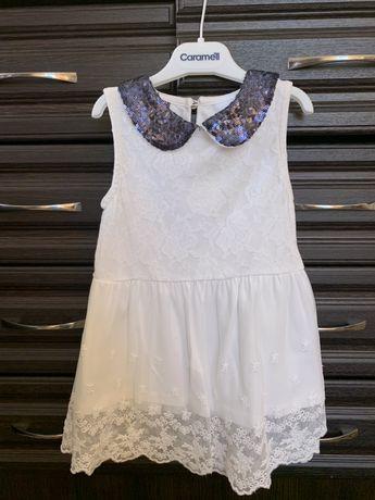 Нарядное детское платье 2-3 года