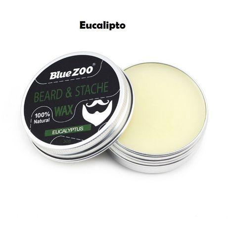 Cera para a barba Blue Zoo – várias essências | Portes grátis