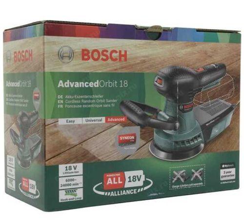 НОВАЯ Аккумуляторная Эксцентриковая шлифмашина  Bosch AdvancedOrbit 18