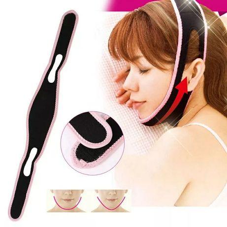 Бандаж/Ремень для похудания лица/от храпа/защита от апноэ