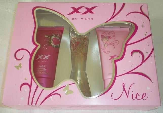 XX by Mexx Nice zestaw upominkowy edt 20 ml i dwa żele pod prysznic