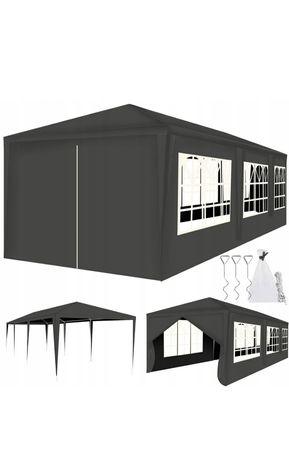 Altanka ogrodowa namiot OGRODOWY 3x9 + 8 ścianek