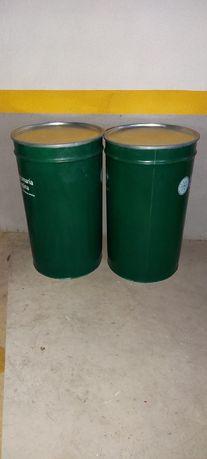 Barricas metálicas 240 litros tampa e fecho