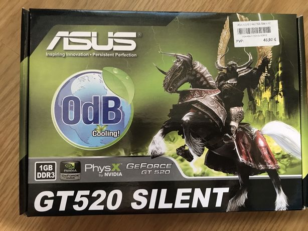 Placa gráfica Asus GT 520 silent