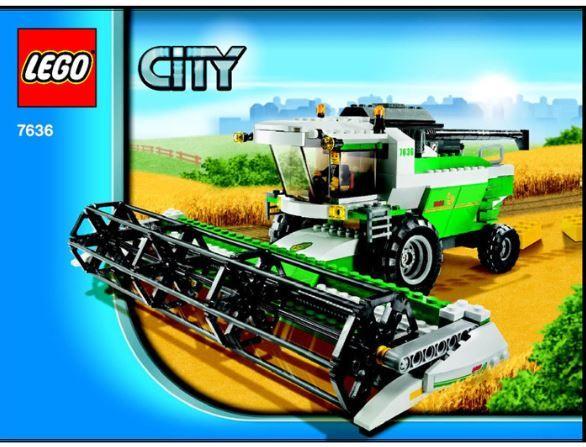 Lego 7636 - City Combine Harvester Avenidas Novas - imagem 1