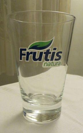Copo Frutis Natura, em Vidro - Novo