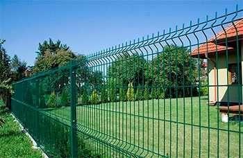 Секционный забор, ворота, калитка, еврозабор