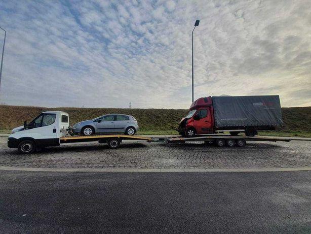 AUTOLAWETA TANIO! Laweta dłużyca autopomoc pomoc drogowa transport!