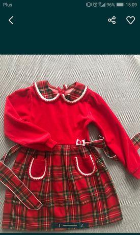 Sukienka  rozmiar 134 cm