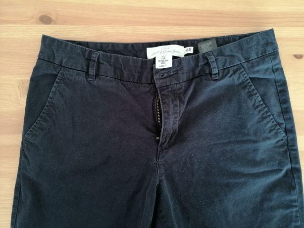 Spodnie granatowe H&M