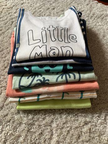 Pack - tshirts bebe (7) - 12 m
