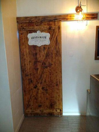 Portas madeira estilo farm house