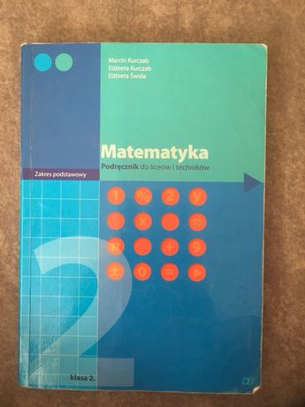 Matematyka podrecznik klasa 2