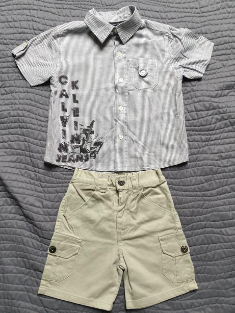 Komplet Calvin Klein Jeans chłopięce,r.92, 18M