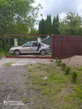 Ворота, брама, клітка, фіртка, накриття