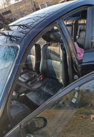 Fotele skórzane skóra Honda Accord VI boczki kanapa komplet