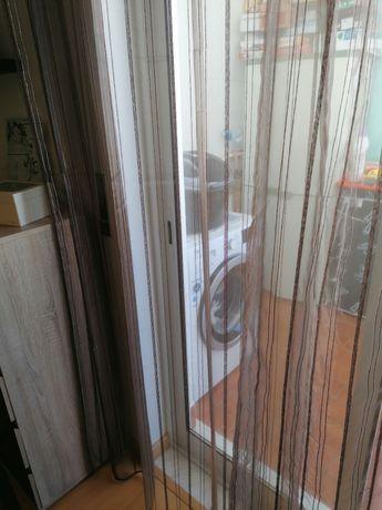 Cortinados castanho transparente