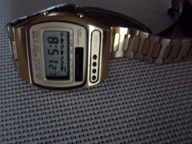 zegarek seiko kultowy lata 80 pozlacany