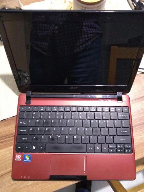 "Laptop Acer aspire one 722-c62rr_ekran 11,6""_Win10_4GB_bateria 1h"