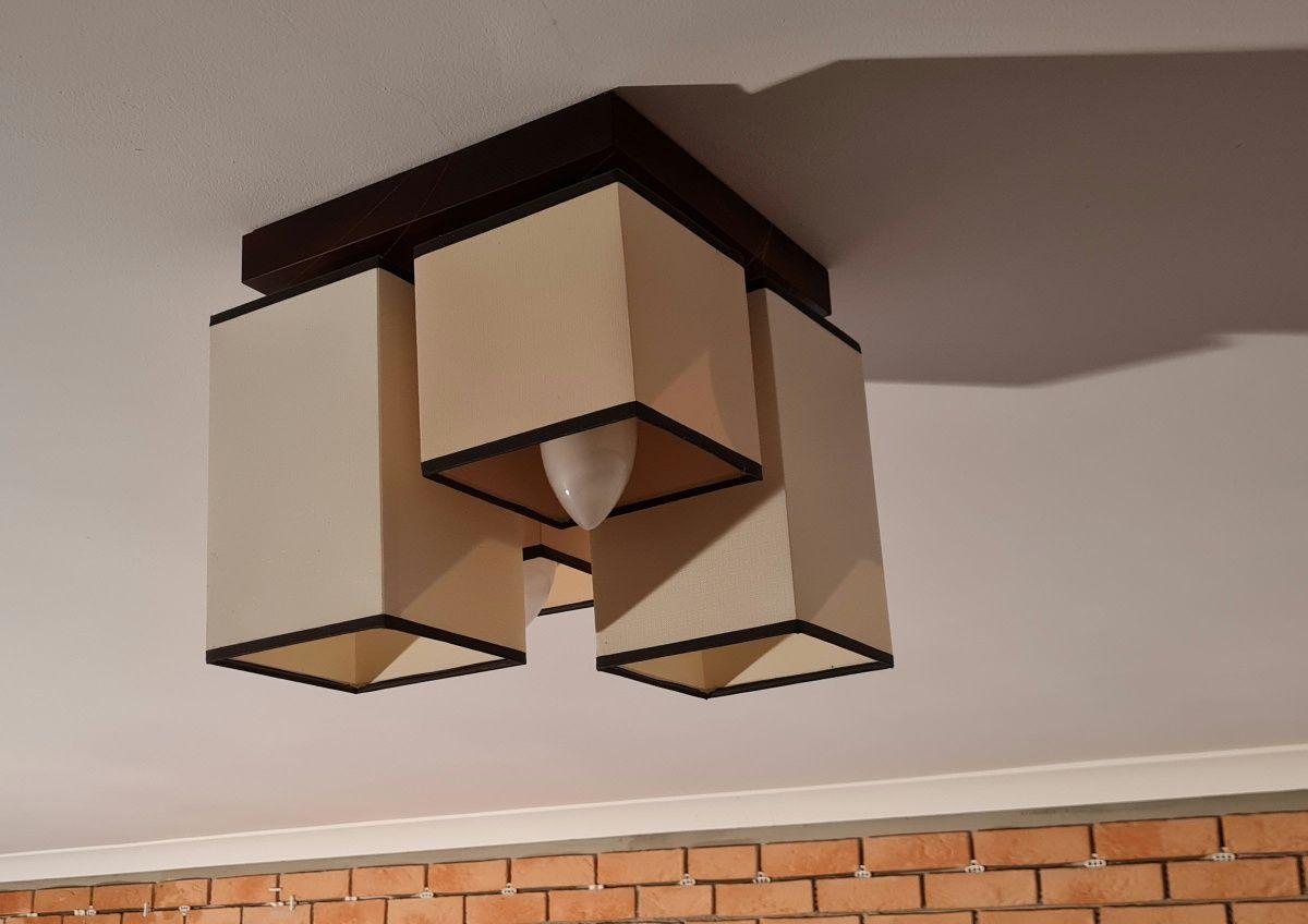 PLAFON, Lampa wisząca 2 sztuki