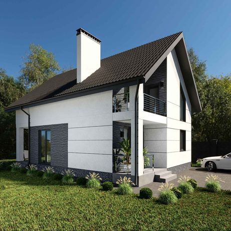 Без комиссии! Продам новый дом рядом с лесом с. Процев