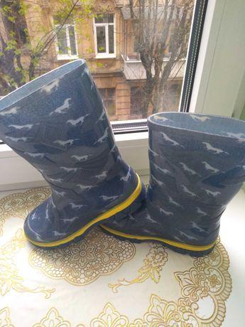 Гумові чобітки 29 розмір