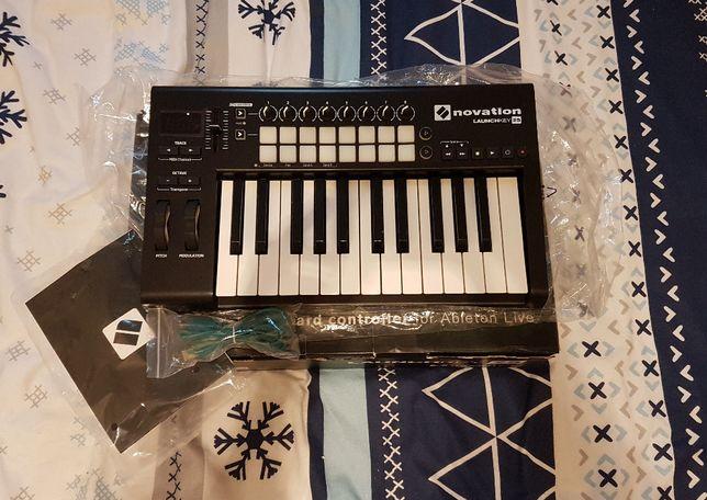 Novation LAUNCHKEY 25 mk2 klawiatura MIDI +ABLETON