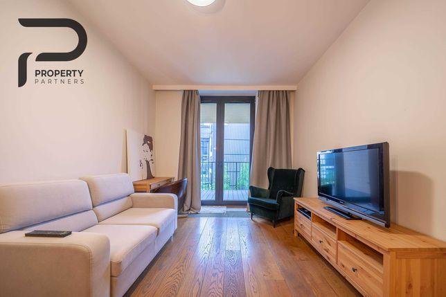Komfortowy 2-pokojowy apartament z dużym balkonem