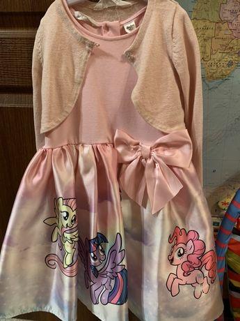 Платье My little pony  H&M 4-6 лет
