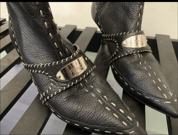 Ботильоны, ботинки от fendi не uterque, zara, massimo dutty