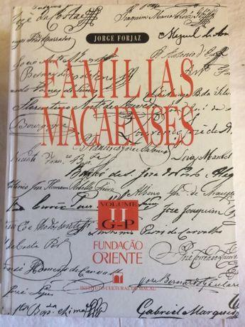 Famílias Macaenses Jorge Forjaz História Macau Genealogia Expansão