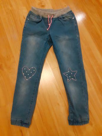 Spodnie dziewczece 134