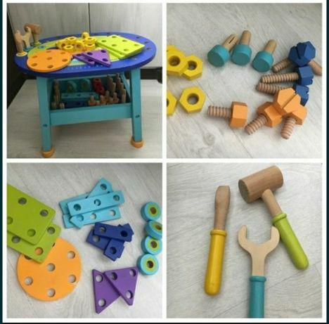 Бойкидо игровой столик, инструменты строительные