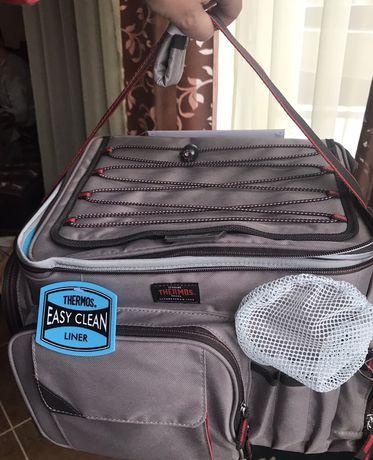 Сумка рыболова для снастей,живой приманки Thermos Insulated Tackle Bag