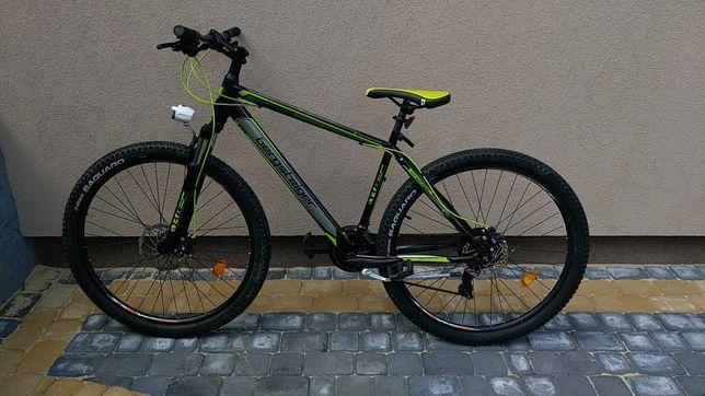 Велосипед Bergsteiger найнер 29 колеса ровер горник дорожник алюм