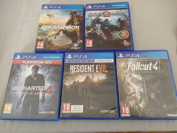 Jogos variados PS4